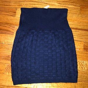 Dresses & Skirts - Navy Blue Sweater Skirt